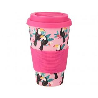 Bamboo cup - Toucan