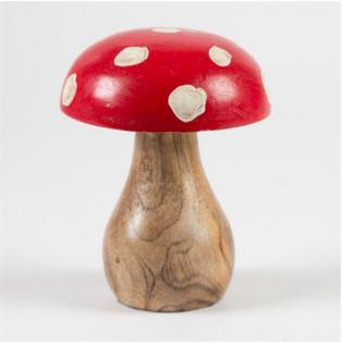 Mushroom deco Amanita muscaria