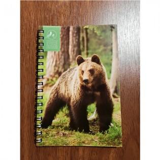 Notebook bear