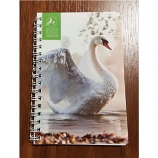 Notebook swan