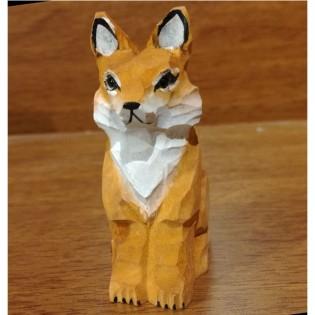 Wooden Handmade Sharpener - Fox