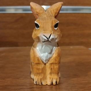 Wooden Handmade Sharpener - Rabbit