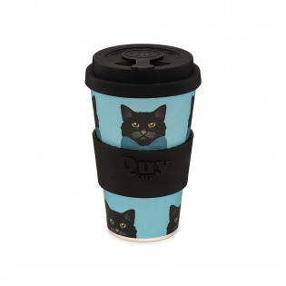 Bamboo cup - Cat