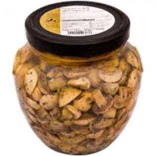Agaricus bisporus mushrooms in oil 1550g