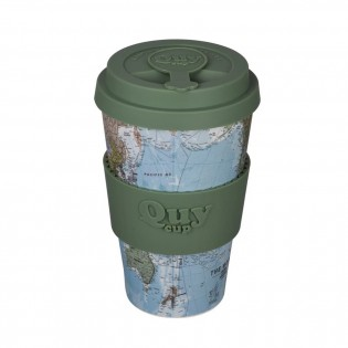 Bamboo cup - Map