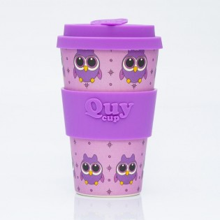 Bamboo cup - Owl