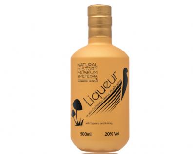 New product: Mushroom Liqueur with wild Cantharellus cibarius mushrooms