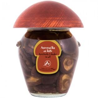 Lentinula edodes (Shiitake) in oil