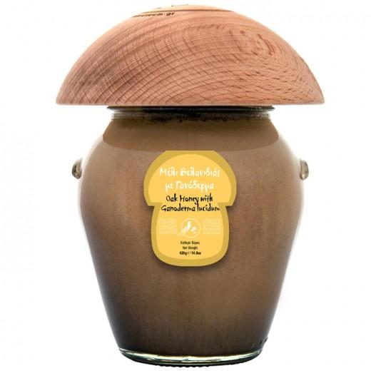 Oak honey with Ganoderma lucidum