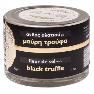 Fleur de sel with Black Truffle