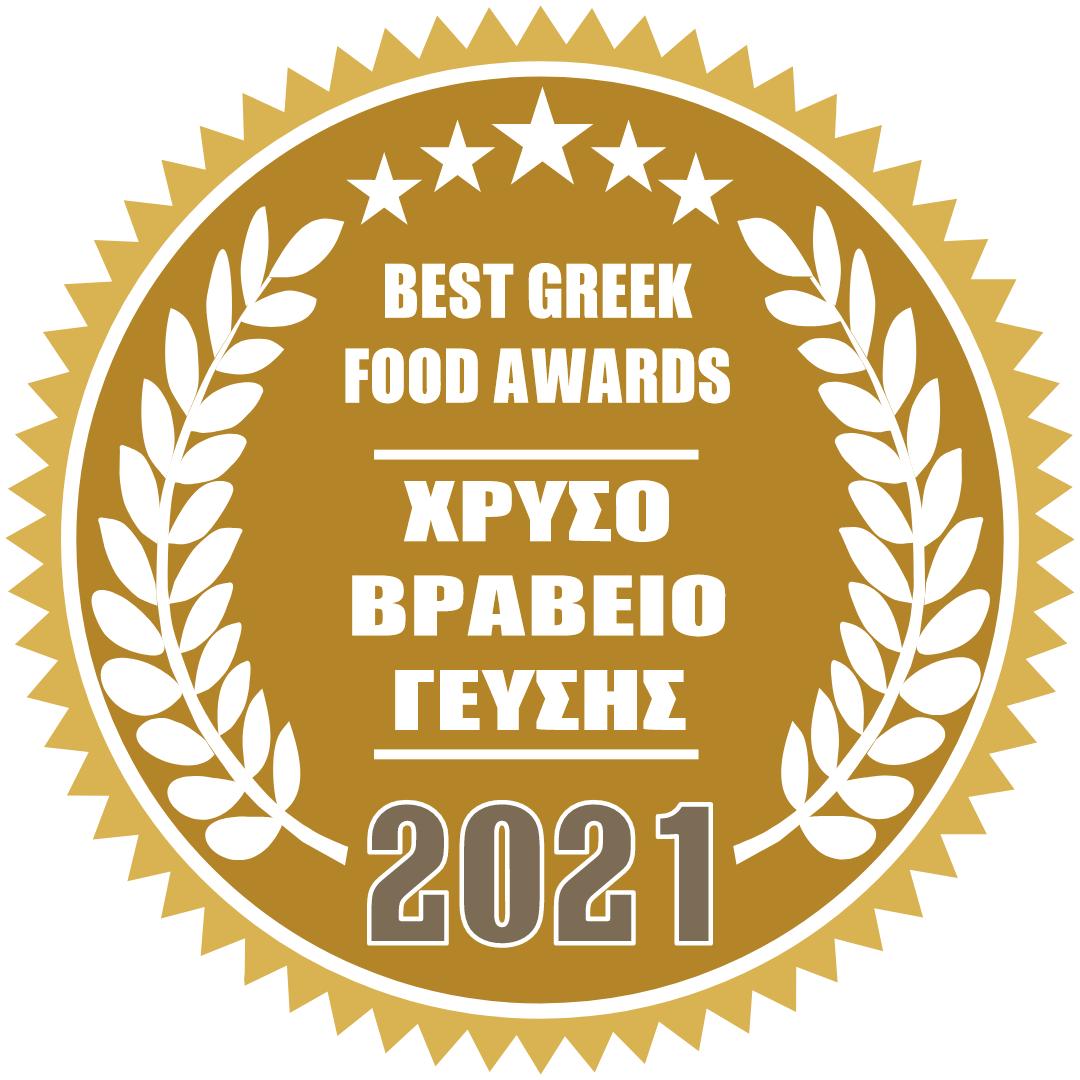 best greek food award  2021