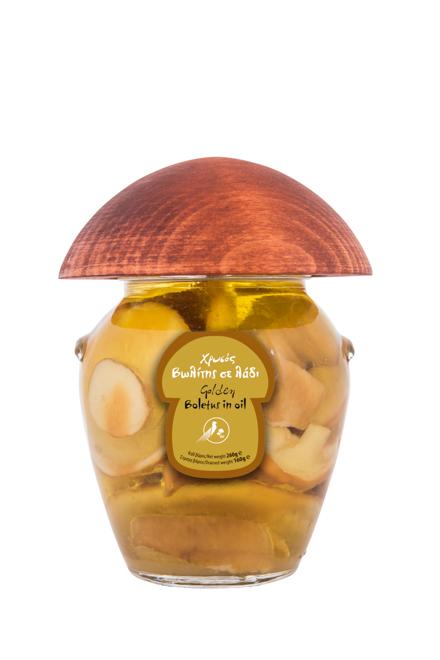 Χρυσός βωλίτης σε λάδι