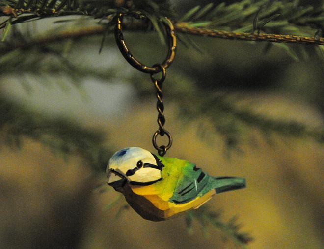 μπρελόκ πουλί - σουβενίρ