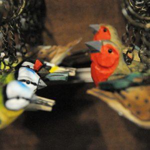 μπρελόκ πουλιά - σουβενίρ