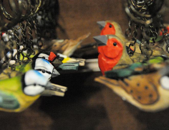 Μπρελόκ με πουλιά – δώρα για παιδιά