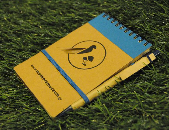 οικολογικα σημειωματαρια με στυλό - αναμνηστικά σουβενιρ για παιδιά