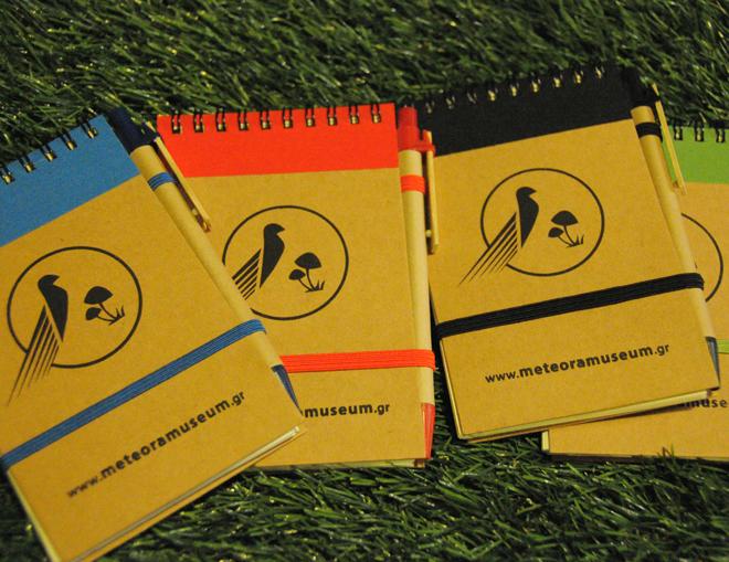 Οικολογικά σημειωματαρια με στυλό - αναμνηστικά σουβενιρ για παιδιά