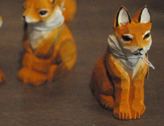 ξύστρα αλεπού - σουβενίρ